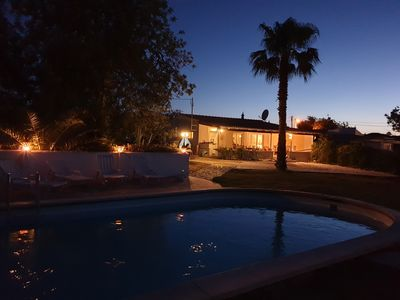 Photo for Peaceful & quiet villa on the edge of Almancil/Quinta with private pool & garden