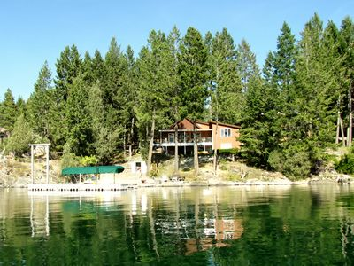 Photo for Grandma's cabin in the woods on the lake!