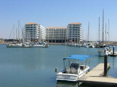 Photo for This is large and modern condo beautifully decorated in beautiful Marina Setting
