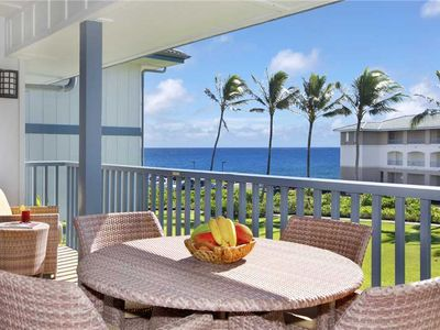 Photo for Poipu Sands Spacious A/C Master & Guest Bedroom Beautiful Sunset *Poipu Sands 425*
