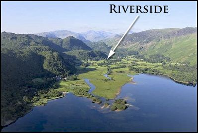 Position of Riverside Holiday Let