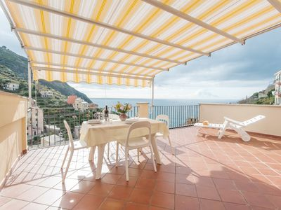 Photo for Exceptional Cinqueterre Apartment with Best Views.