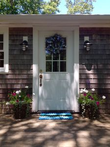 Photo for Lovely Chilmark Cottage in Private Setting.
