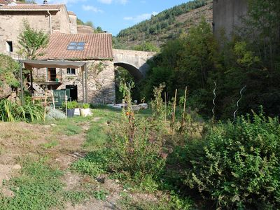 Photo for Authentic renovated Mill, sleeps 4+ , garden, natural pool, Ferrals les Montagne