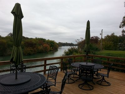 Photo for Waterfront Home on Lake Dunlap with a Great View