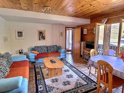 Photo for SKI-IN / SKI-OUT Les Crosets, 1 bedroom, wifi, on the slopes and with indoor garage (5-W)