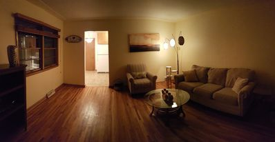 Photo for Superbowl CREEK SIDE 3 BED, 10 MIN FROM STADIUM