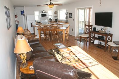 Open floor plan, first level, Kitchen, Dining and Family Room