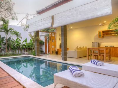 "Photo for Modern Holiday 2 Bedroom Villa ""Eat Street"", Seminyak"