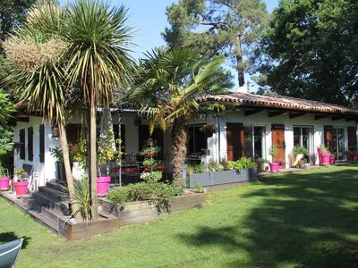 Photo for BEAUTIFUL VILLA IN A PARK TREES 100M FROM THE BEACH