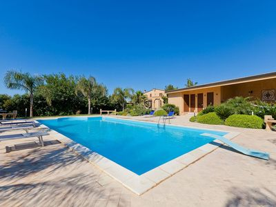 Photo for Villa Athena in western Sicily, with pool, 4 bedrooms, it can accommodate 8 guests.
