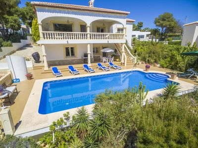 Photo for Villa Juana in Javea, sleeps 6 people, air conditioning, wifi, pool and TV