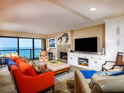Photo for Beach You To It!! Remodeled 2 BR Oceanfront Seascape Sur #61
