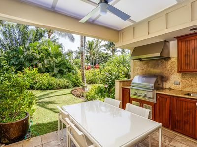 Photo for Stunning Garden View condo at the Mauna Lani Resort with AC, Walking Distance to Beach, Resort Pool, Hot Tub