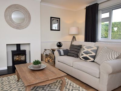 Comfortable sofas in the spacious lounge