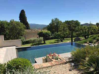 Photo for Superb Gite,Infinity Pool,Free Wifi, Easy Walking Distance of Authentic Village