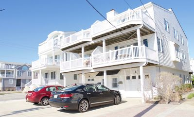 Photo for Location Location Location! One house off the beach. This townhome is a great set up