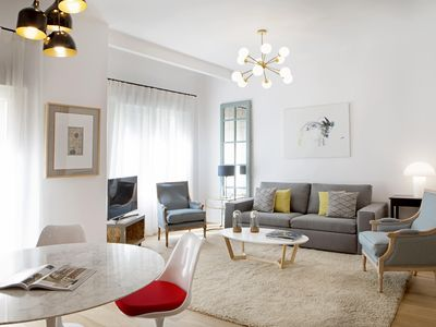 Photo for 3Dorm / 3bathroom Apt-Gran Via Madrid Center-Terrace