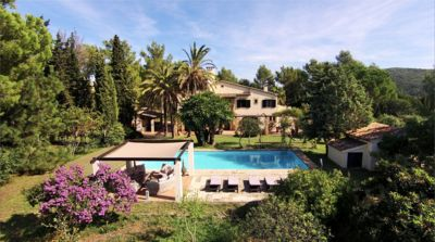 Photo for Stunning House, 10 acre grounds, Tennis Court, Huge Pool, 5 mins from Port