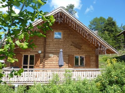 Photo for Authentic Chalet 8-10 seats - Heated Pool in the residence
