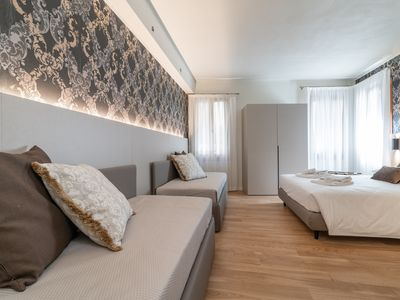 Photo for Room 2 - Grifoni Boutique Hotel - Rent for rooms for 4 people in Venecia
