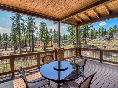 Photo for NEWLY BUILT, Beautiful, 3BR Pine Hollow Retreat, Ideal Location, Loaded with Amenities!