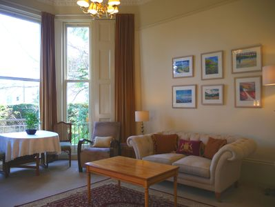 Luxury Ground floor one bedroom apartment - well behaved pets welcome.