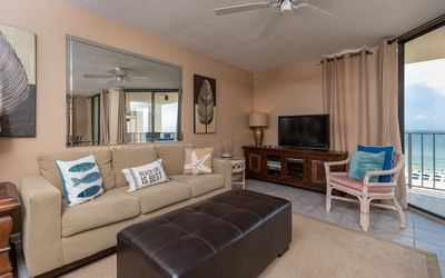 Photo for Three Bedroom Gulf Front Condo on the Beach at Phoenix III