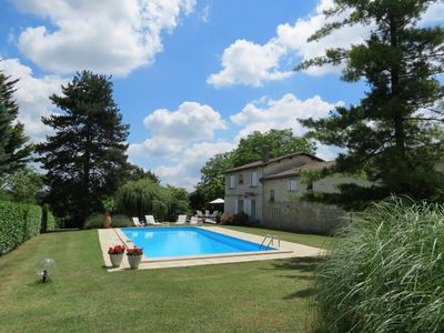 Photo for Charming stone house in a park with trees on the hillsides of Bordeaux