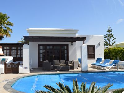 Photo for Detached Luxury Villa set in Beautiful Gardens with a Private Heated Pool