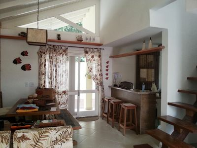 Photo for Charming house in beautiful condominium 500 meters from the beach!