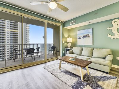 Photo for Book your SANITARY Summer 2020 vacation in this beautiful 10th floor condo!