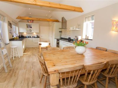 Photo for A stylish house in Thornham offering luxury and spacious open-plan living.
