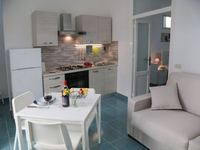 Photo for Modern two room apartment with sea views in the heart of Cefalù's historic town