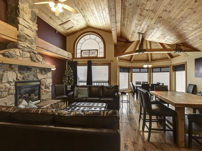 Photo for SLEEPS 22 - True Ski In/Out - 3 Bedroom+Den+Loft+Foosball and Hot Tub