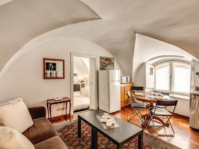 Photo for Cozy and modern studio ideally located at 5 minutes walking from the Vatican and Castel Sant'angelo.