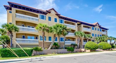 Photo for Spacious 3/3 ocean view condo,  just steps to the beach, pool, pet friendly