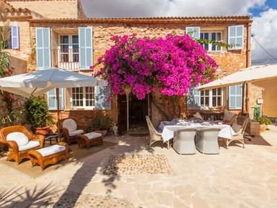 Photo for Lindsey House. Exclusive, elegant with pool, garden and terrace in Es Llombards
