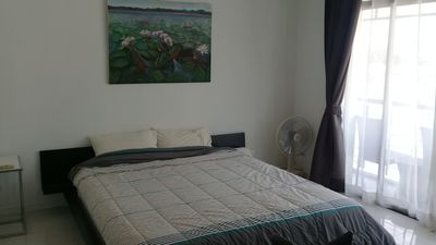 Master bedroom which also has a seating area, dressing room & ensuite bathroom.