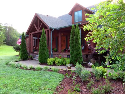 Photo for Valley Carriage Home on 6 beautiful acres, wildlife, views close to Chattanooga