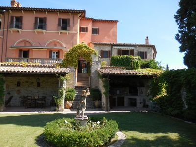 Photo for Villa Wedding apartment in Todi with WiFi, private parking, private roof terrace, balcony & jacuzzi.