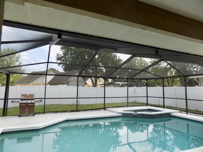 Photo for The Zen Oasis w/ HUGE POOL & Patio in Friendly Neighborhood - 15 mins to Tampa!