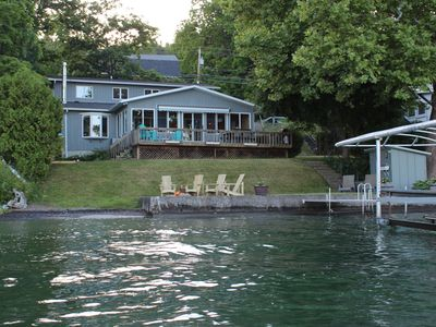 Photo for Newly Renovated!  Lakeaholic Living On Canandaigua Lake