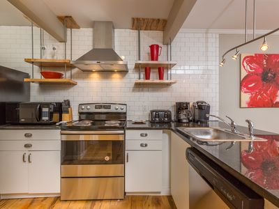 Photo for Newly Renovated Apartment Only Steps from Wake Forest Hospital