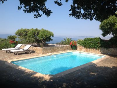 Photo for Two splendid sea views this villa - private domain of Gaou Benat