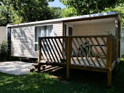 Photo for Camping Bourgnatelle **** - Mobile Home 3 rooms 4/6 people Comfort