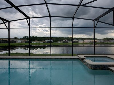 Photo for Gated Community! Sparkling private pool, game room, near famous attractions