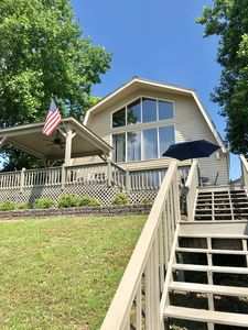 Photo for Adorable Cabin with AMAZING views on Tims Ford Main Channel with Hot Tub!