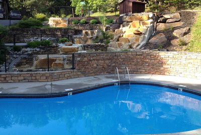 Resort Pool - very short walk from the cabin - Open May-September