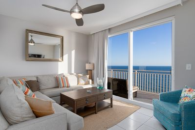 Living Room - Your next Panama City Beach vacation starts here.